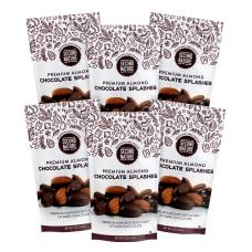 Second Nature Premium Chocolate Splashes Almond