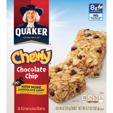 Quaker Oats Chocolate Chip Chewy Granola