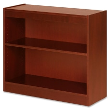 Lorell Veneer Bookcase 2 Shelf 30