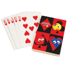 Learning Advantage Giant Playing Cards