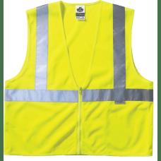 Ergodyne GloWear Safety Vests Polyester Mesh