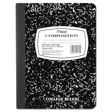 Mead Composition Book Sewn 7 12
