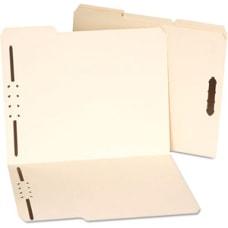 Universal Universal Manila Folders Two Fasteners