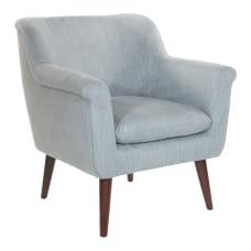 Office Star Dane Accent Chair CharcoalDark