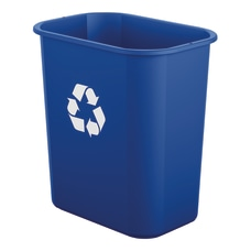 Suncast Commercial Desk Side Resin Trash