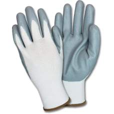 Safety Zone Nitrile Coated Knit Gloves