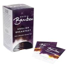 White Bamboo Organic Tea English Breakfast