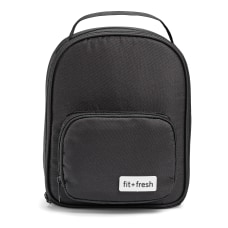 Fit Fresh Mia Lunch Bag Black
