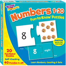 Trend Fun To Know Puzzle Numbers