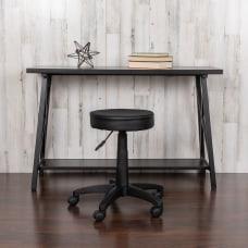 Flash Furniture Height Adjustable Doctors Stool