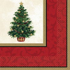 Amscan Classic Christmas Tree 2 Ply