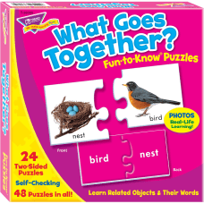 Trend What Goes Together Matching Puzzle