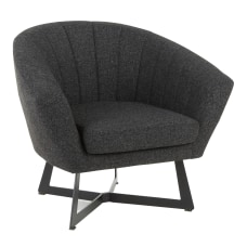 LumiSource Portman Club Chair Black