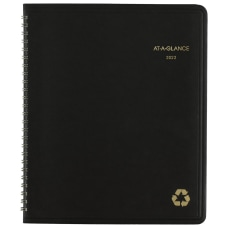AT A GLANCE Recycled Monthly Planner