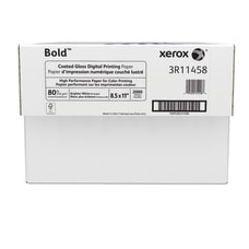 Xerox Bold Digital Coated Gloss Printing