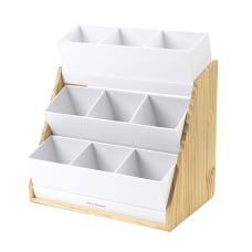 Mind Reader 9 Compartment Acrylic Condiment