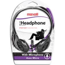Maxell HP 100 On Ear Headphones