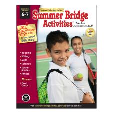 Carson Dellosa Summer Bridge Activities Workbooks