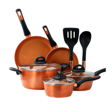 Gibson Home Hummington 10 Piece Cookware