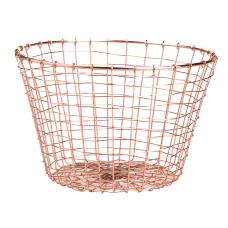 Mind Reader Round Basket Medium Size
