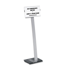 Durable Info Sign Duo Floor Sign
