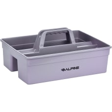 Alpine Plastic Cleaning Caddy 3 Compartments