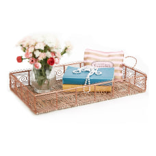 Mind Reader Large Rectangular Server Tray
