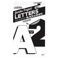 ArtSkills Quick Letters 4 BlackWhite Pack