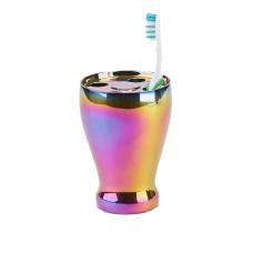 Mind Reader Iridescent Toothbrush Holder Multicolor