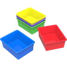 Storex Deep Letter Size Storage Trays
