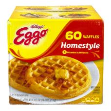 Kelloggs Eggo Homestyle Waffles 10 Waffles