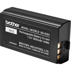 Brother Rechargeable Li ion Battery Pack