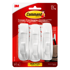3M Command General Purpose Hooks Large
