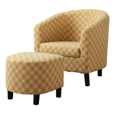 Monarch Specialties Abba Accent Chair With