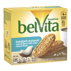 BELVITA Breakfast Biscuits Toasted Coconut 5