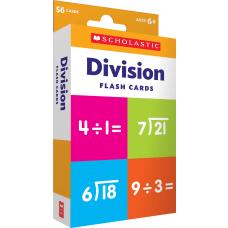 Scholastic Division Flash Cards 6 516