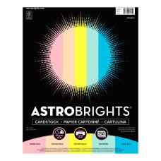 Astrobrights Color Card Stock Letter Size