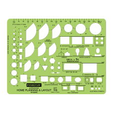Staedtler Mars Template Home Planning Layout