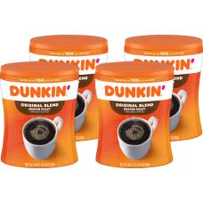 Dunkin Donuts Original Blend Ground Canister