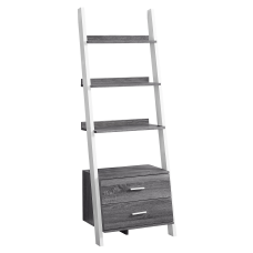 Monarch Specialties 4 Shelf Ladder Bookcase