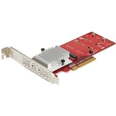 StarTechcom Dual M2 PCIe SSD Adapter