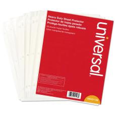 Universal Deluxe Heavy Duty Sheet Protectors