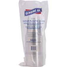 Genuine Joe Clear Plastic Cups 12