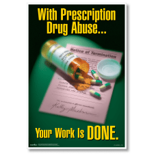 ComplyRight Substance Abuse Poster Prescription Drug