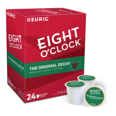 Eight OClock Original Decaf Coffee Single