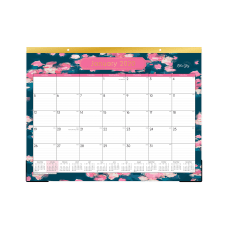 Blue Sky Rosine Monthly Desk Pad