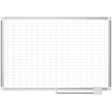 MasterVision Platinum Pure 1 x2 Grid