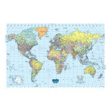 House of Doolittle Laminated World Map