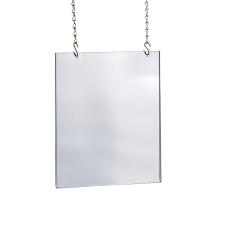 Azar Displays Acrylic Hanging Poster Frame