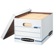Bankers Box StorFile Storage Boxes LetterLegal